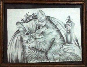 la jolie chat